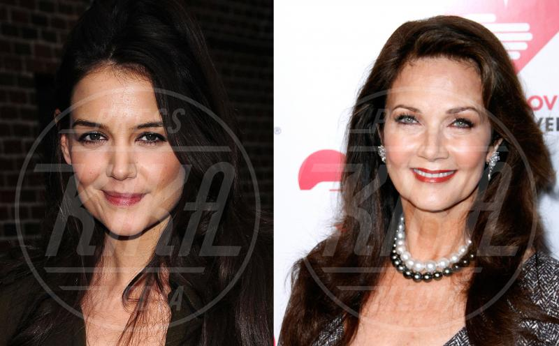 Katie Holmes, Lynda Carter - Hollywood - 28-11-2014 - Separati alla nascita: le star e i loro cloni