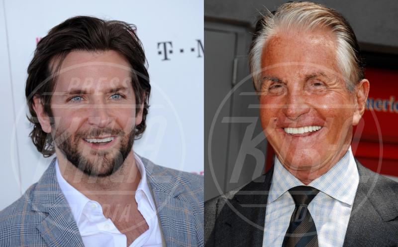 George Hamilton, Bradley Cooper - Hollywood - 28-11-2014 - Leonardo DiCaprio ha un sosia, ed è italiano, Davide Silvestri