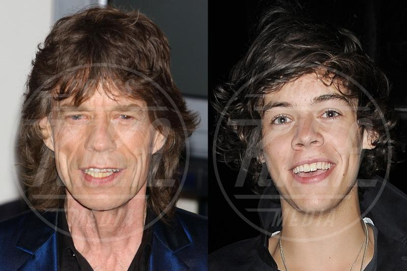 Harry Styles, Mick Jagger - 27-07-2012 - Separati alla nascita: ma siete identici!