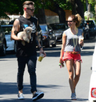 Christopher French, Ashley Tisdale - Los Angeles - 13-05-2013 - Ashley Tisdale e Christopher French si sono sposati