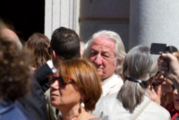 Giorgio Forattini, Ottavio Missoni - Varese - 13-05-2013 - Ottavio Missoni: i funerali a Gallarate