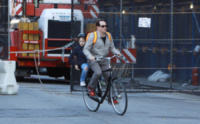 James Broderick, Matthew Broderick - New York - 14-05-2013 - Matthew Broderick: un mammo per le strade di New York