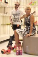 Malika Ayane - Milano - 14-05-2013 - Malika Ayane: shooting coi fiocchi (e con le scarpe) da Zanotti