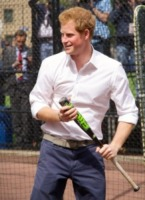 Principe Harry - New York - 14-05-2013 - Harry, principe dello swing. Ma sempre in camicia