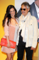 Veronica Berti, Andrea Bocelli - Berlino - 14-05-2013 - Andrea Bocelli premiato in Germania: 7 milioni di copie