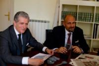 Mario Traverso, Francesco Pirinoli - Braccialetto Elettronico - Milano - 15-05-2013 - Col Decreto sul femminicidio, arriva il braccialetto elettronico