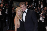 Hayley Roberts, David Hasselhoff - Cannes - 14-05-2013 - David Hasselhoff sposo in Italia con la sua Hayley