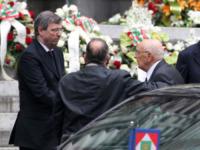 Giorgio Napolitano - Genova - 15-05-2013 - Genova si ferma per ricordare le sue vittime