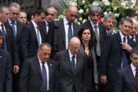 Laura Boldrini, Giorgio Napolitano - Genova - 15-05-2013 - Genova si ferma per ricordare le sue vittime