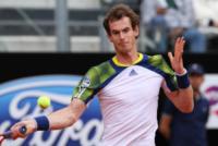 Andy Murray - Roma - 15-05-2013 - Jerzy Janowicz si strappa la maglietta come Hulk