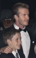 Brooklyn Beckham, David Beckham - Londra - 19-12-2011 - David Beckham annuncia il suo ritiro dal calcio