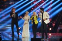 Veronica De Simone, Manuel Foresta, Raffaella Carrà - Milano - 16-05-2013 - The Voice: De Simone e Foresta in semifinale