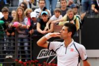 Novak Djokovic - Roma - 16-05-2013 - Internazionali di tennis: ritiro Sharapova, Errani in semifinale