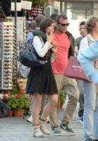 Bruno Centola, Lorella Boccia - Roma - 19-05-2013 - Lorella Boccia e Bruno Centola innamorati a Roma
