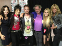 Lauren Corrine, Sally Humphreys, Keith Richards, Ronnie Wood, Aaron Paul - 21-05-2013 - Ronnie Wood sarà padre di due gemelli a 68 anni