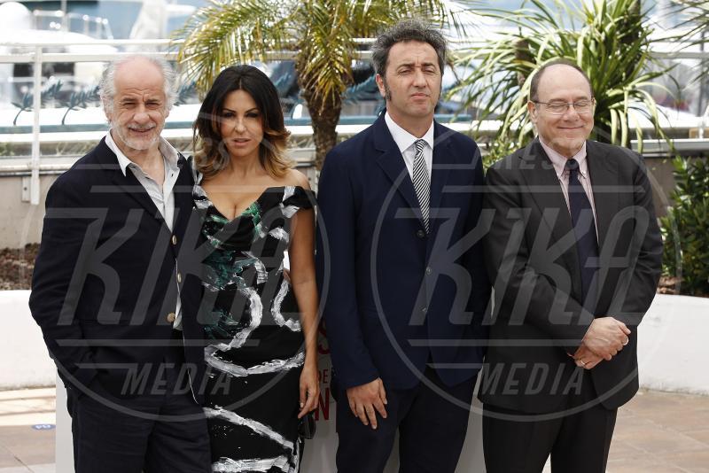 Toni Servillo, Sabrina Ferilli, Carlo Verdone, Paolo Sorrentino - Cannes - 21-05-2013 - Da Fellini a Morricone, quando il cinema italiano è da Oscar