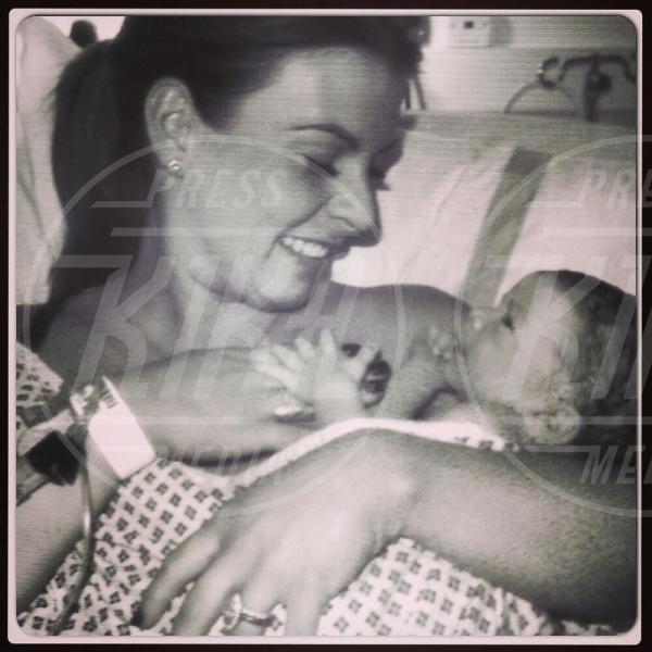 Klay Rooney, Coleen Rooney - Los Angeles - 18-04-2015 - Childbirth-selfie: un altro tipo di autoscatto contagia i vip