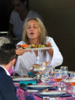 """Sharon Stone - Cannes - 21-05-2013 - Sharon Stone: il fascino resta, la bellezza è """"truccata"""""""