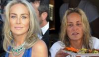 """Sharon Stone: il fascino resta, la bellezza è """"truccata"""""""