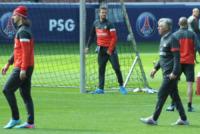 Carlo Ancelotti, Zlatan Ibrahimovic, David Beckham - Parigi - 22-05-2013 - David Beckham: manutenzione dei gioielli di famiglia