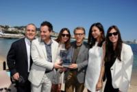 Iginio Straffi, Cristoph Waltz, Moran Atias, Pascal Vicedomini, Elsa Zylberstein - Cannes - 22-05-2013 - Ischia Global, il padrino sarà il premio Oscar Cristoph Waltz