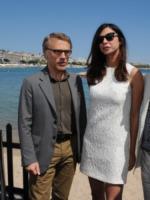 Cristoph Waltz, Moran Atias - Cannes - 22-05-2013 - Ischia Global, il padrino sarà il premio Oscar Cristoph Waltz