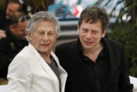 Roman Polanski, Mathieu Amalric - Cannes - 25-05-2013 - Festival di Cannes: photocall di La Venus a la Fourrure