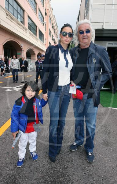 Nathan Falco Briatore, Elisabetta Gregoraci, Flavio Briatore - Monaco - 25-05-2013 - Ma quale crisi? In casa Briatore è in arrivo un secondo figlio