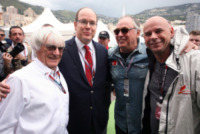 Principe Alberto di Monaco, Bernie Ecclestone - Monaco - 25-05-2013 - Parata di stelle al Gran Premio di Monte Carlo