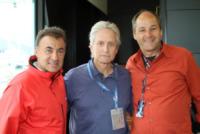 Gerard Berger, Jean Alesi, Michael Douglas - Monaco - 25-05-2013 - Parata di stelle al Gran Premio di Monte Carlo