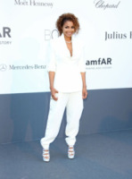 Janet Jackson - Cannes - 23-05-2013 - Festival di Cannes: il red carpet è una scacchiera
