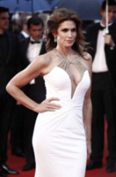 Cindy Crawford - Cannes - 15-05-2013 - Festival di Cannes: il red carpet è una scacchiera
