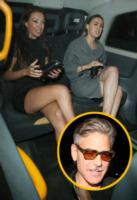 George Clooney - Londra - 26-05-2013 - Due londinesi per Clooney, posson bastare?