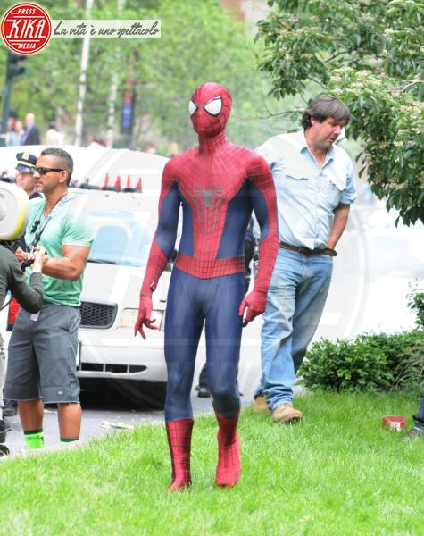 Andrew Garfield - New York - 26-05-2013 - Andrew Garfield ha grandi doti... nel costume di Spider-Man!