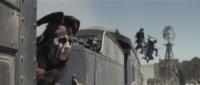 Johnny Depp - Los Angeles - 29-05-2013 - Johnny Depp cade da cavallo sul set di Lone Ranger