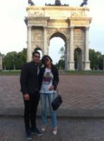 Nando Colelli, Sara Tommasi - Milano - 29-05-2013 - Dillo con un tweet: è il giorno di Lola Ponce