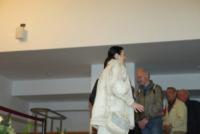 Carla Fracci - Milano - 30-05-2013 - Camera ardente di Franca Rame: Dario Fo accoglie Carla Fracci