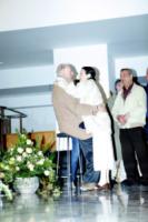Dario Fo, Carla Fracci - Milano - 30-05-2013 - Camera ardente di Franca Rame: Dario Fo accoglie Carla Fracci