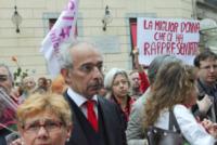 Gad Lerner - Milano - 31-05-2013 - Milano dàl'ultimo saluto a Franca Rame
