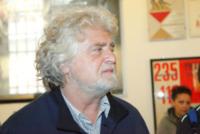Beppe Grillo - Milano - 31-05-2013 - Milano dàl'ultimo saluto a Franca Rame