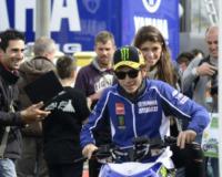 Linda Morselli, Valentino Rossi - Mugello - 31-05-2013 - Linda Morselli ama la velocità, dopo Valentino Rossi ecco Alonso