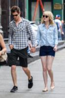 Emma Stone, Andrew Garfield - New York - 31-05-2013 - Andrew Garfield ha grandi doti... nel costume di Spider-Man!
