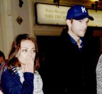 Mila Kunis, Ashton Kutcher - Londra - 01-06-2013 - Nozze a Stonehenge per Kutcher-Kunis, Demi Moore permettendo