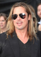 Brad Pitt - Londra - 03-06-2013 - Riflettori su Angelina Jolie e Brad Pitt, più uniti che mai