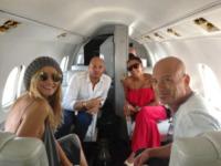 Stephen Belafonte, Howie Mandel, Mel B, Heidi Klum - Las Vegas - 03-06-2013 - Dillo con un tweet: il lato b della Canalis merita gli applausi