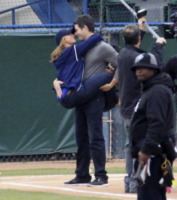 Bryan Hallisay, Jennifer Love Hewitt - Los Angeles - 18-03-2013 - Jennifer Love Hewitt è incinta del suo primo figlio