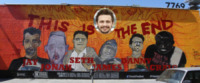 Murales, James Franco - Los Angeles - 04-06-2013 - James Franco è diventato un artista di strada