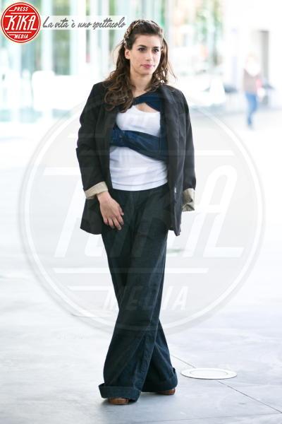 Giulia Michelini - Roma - 04-06-2013 - Bende, cerotti, gessi, la dura vita della star