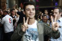 Moreno Donadoni - Milano - 05-06-2013 -  Bagno di folla milanese per il vincitore di Amici Moreno