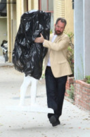 Daniel Edwards - Los Angeles - 05-06-2013 - Kim Kardashian incinta diventa arte per Daniel Edwards